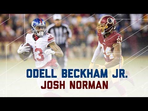 Odell Beckham Jr. vs. Josh Norman Round 3! | NFL Week 17 Player Highlights