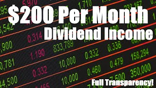 $200/month in dividends | My Dividend Growth Investing Journey | Dividend Portfolio Feb 2017
