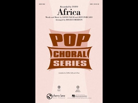 Africa (SAB) - Arranged by Roger Emerson