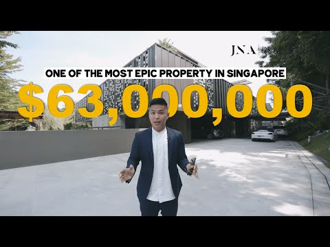 [Singapore Good Class Bungalow] Inside a MASSIVE $63 million relic hunter's GCB