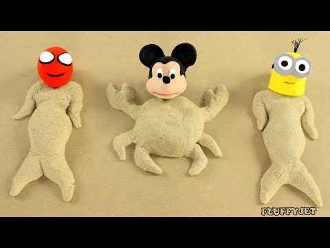 Thumbnail: Spiderman Stop Motion Play Doh Sandbox Baby Playtime Toys Family Fun Pretend Play Funny Kids Video