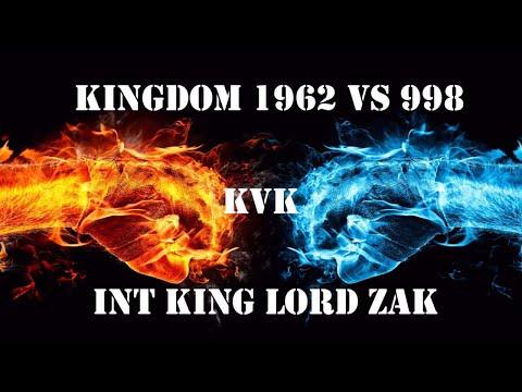 Clash Of Kings: Kvk 1962 Vs 998! INT Alliance Lord Zak [Monster Kills] (2018)