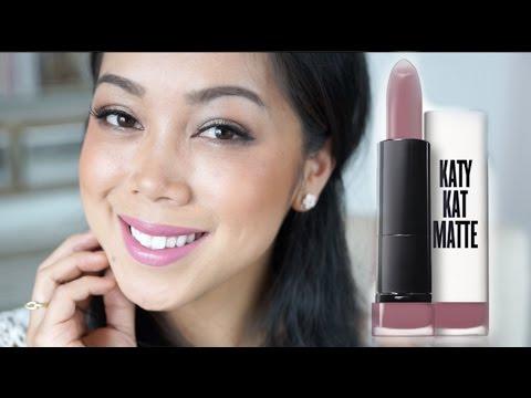 NEW Covergirl Katy Kat Matte Lipsticks - itsjudytime first impression review