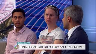 Victoria Live: NAO Universal Credit report with Tory MP and claimants