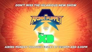 Atomic Puppet on Disney XD July 18th!