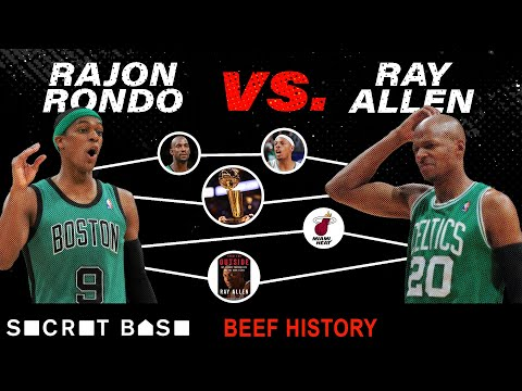 Ray Allen and Rajon Rondo went from 'brothers' to beef