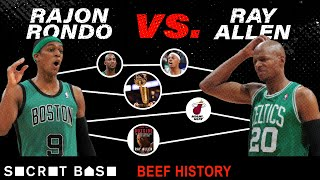 "Ray Allen and Rajon Rondo went from ""brothers"" to beef"