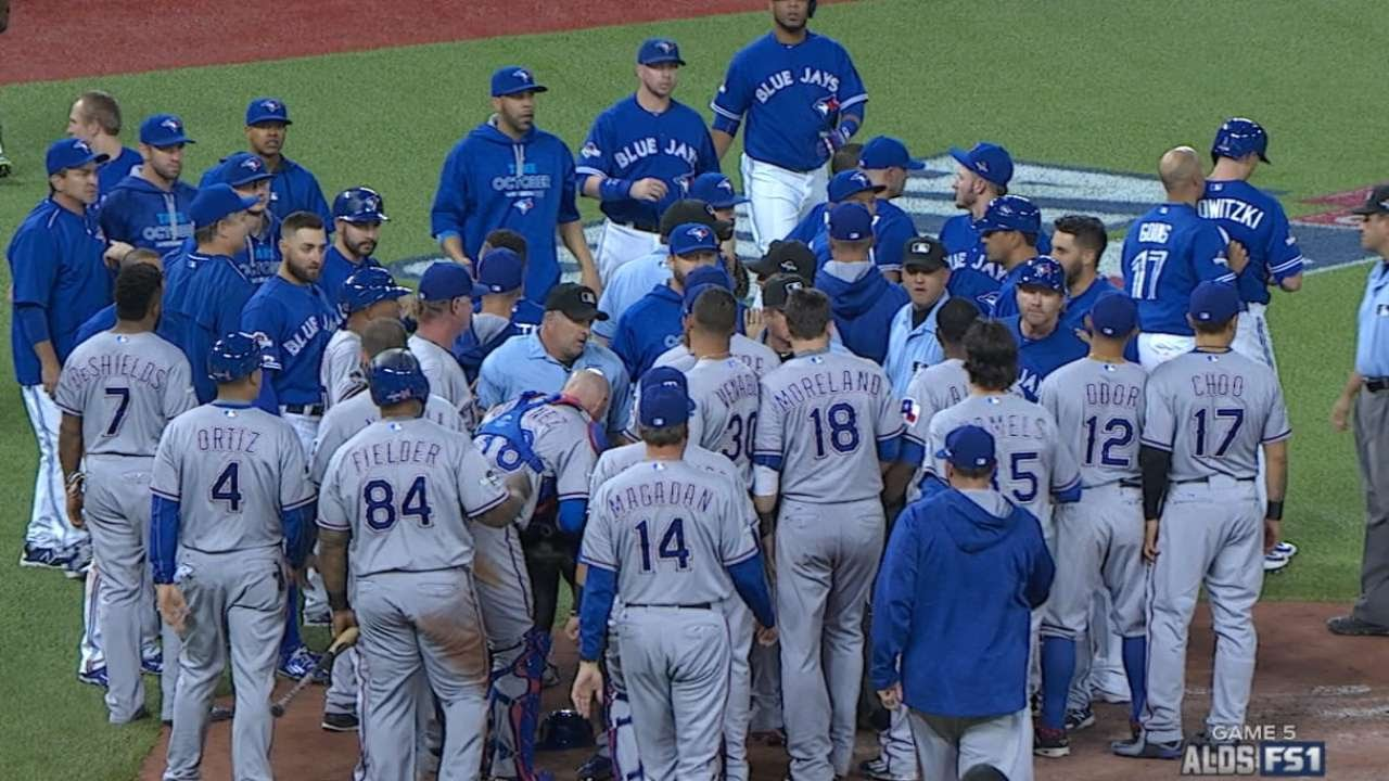 Download TEX@TOR Gm5: Blue Jays take lead in a wild 7th inning