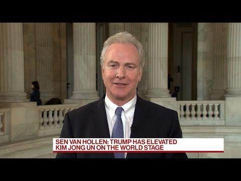 Sen. Van Hollen Says Kim Is Playing With Trump, Summit Was 'Amateur Hour'