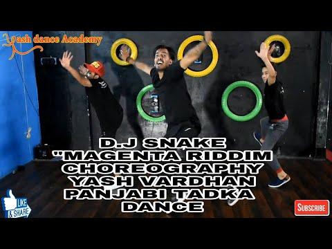 "DJ SNAKE - ""MAGENTA RIDDIM"" Bhangra Funk Dance | YASH VARDHAN Choreography"