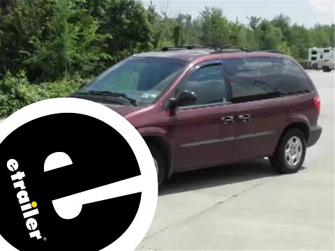 Trailer Wiring Harness Installation - 2003 Dodge Caravan ...