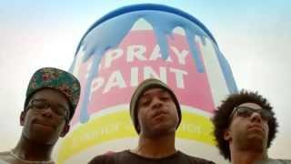 PUB - ADD EXTRACT |  #JeVeuxUnMega spray de peinture à La Villette pour Samsung Mobile