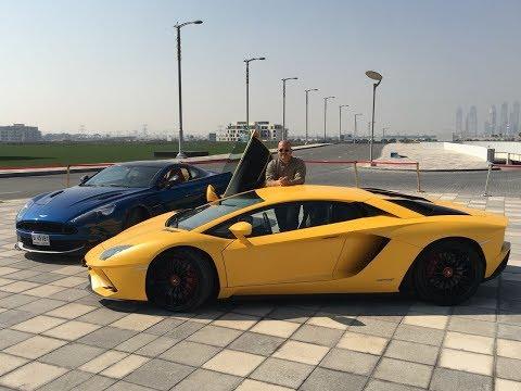 Mohamed Sheta compares Aston Martin Vanquish vs. Lamborghini Aventador S ... Part 1 thumbnail