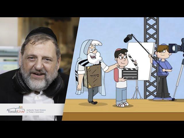 R' Orlofsky & TorahLive: Help inspire children worldwide!