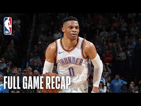 TRAIL BLAZERS vs THUNDER | History Is Made In OKC | February 11, 2019
