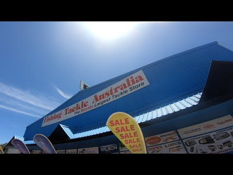 The WORLDs LARGEST Fishing Tackle Store