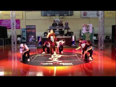 Juste Debout Locking4life Cyprus Showcase 2013 Athens