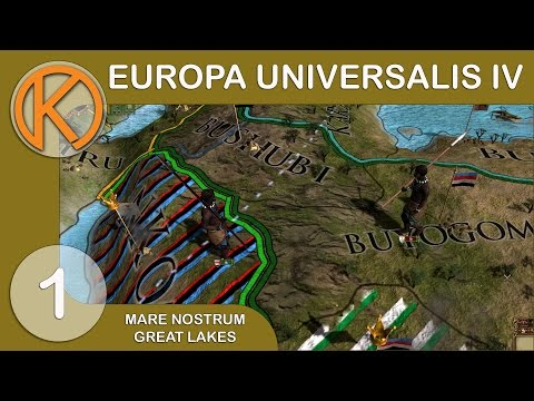 EU4 Mare Nostrum - African Roots [1] - African Great Lakes Campaign