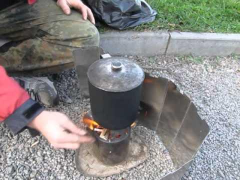 Походная печка ракетного типа 2