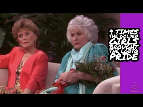 9 Times The Golden Girls Brought The LGBTQ Pride