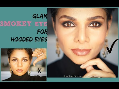 Perfect Smokey Eye For Hooded Eyes Easy Step By Step Tutorial Blush With Me