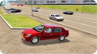 Renault Symbol City Car Driving (Sport Driving)