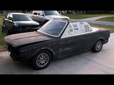 1988 BMW 325i E30 Convertible Restoration Project