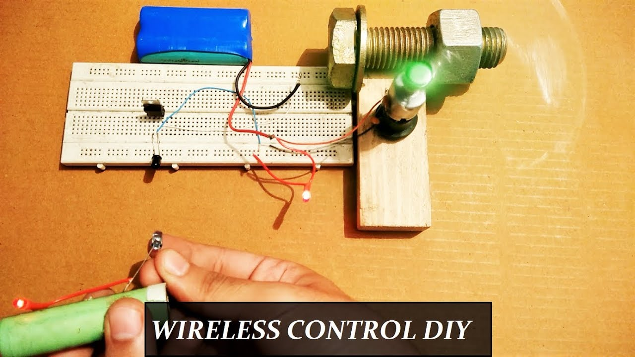 Remote Control Wireless Circuit For Lights And Fans Diy Step By