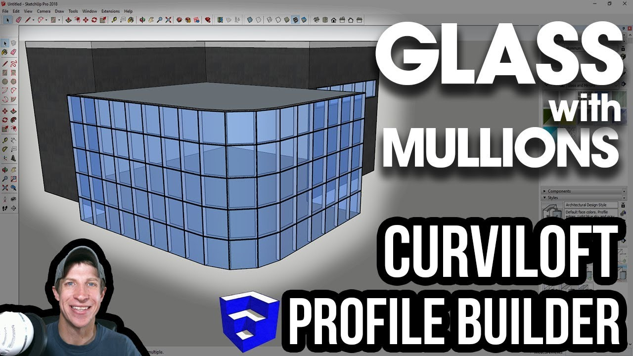 Creating Glass Skin with Curviloft and Profile Builder - The