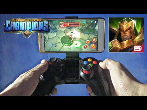 Dungeon Hunter Champions With Gamepad Android Gameplay HD
