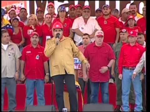 Presidente Maduro desde Guayana: FANB en alerta por ingreso de paramilitares