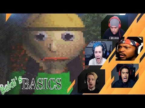 Gamers Reactions to the Baldi Jumpscare | Baldi's Camping Field Trip (DEMO)