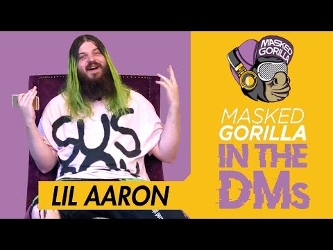 Lil Aaron Goes 'In The DMs' w/ Masked Gorilla