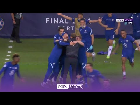 Full-time SCENES as Chelsea overcome City in final 🥳️ | UCL 20/21 Moments