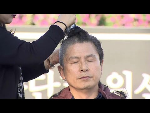 شاهد: احتجاج سياسي بحلق الرؤوس في كوريا الجنوبية  - نشر قبل 2 ساعة