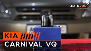 Wie KIA CARNIVAL / GRAND CARNIVAL III (VQ) Regelsonde austauschen - Video-Tutorial