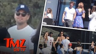 Leo Dicaprio Has A Ball | TMZ TV