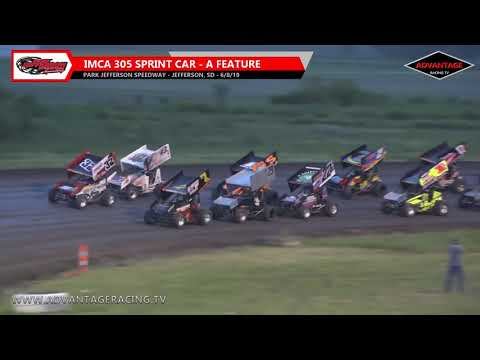 Hobby Stock/305 Sprint Features - Park Jefferson Speedway - 6/8/19