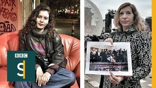 'The Berlin Wall fell and I smelt cake' - BBC Stories
