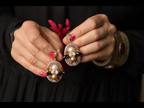 Серьги из натуральных камней, модные серьги . Браслеты из камней