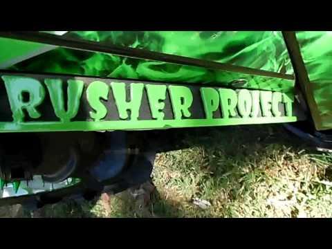 Skull Crusher Project Nicest UTV Ever Built 2012 Arctic Cat Wildcat Fred Miller Park Car Show