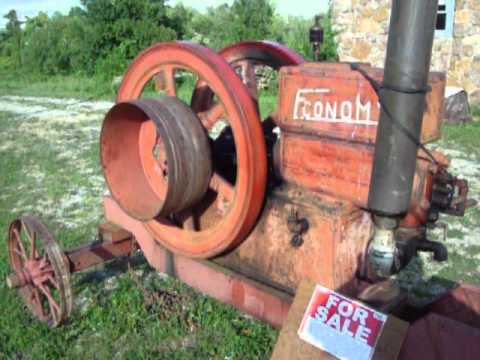 1917 Economy hit miss 9 HP engine