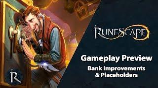 RuneScape Preview - Bank Improvements & Placeholders