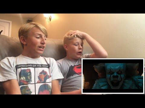 IT - Official Trailer 1 REACTION!