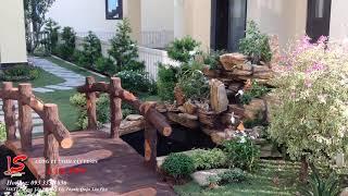 Tiểu cảnh sân vườn nhà chị Dung - Quận 12