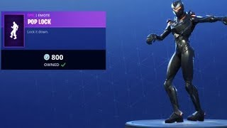 POP LOCK DANCE EMOTE is Back *NEW* Fortnite Item Shop 9th July