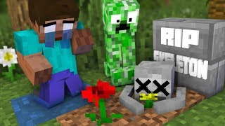 Monster School : RIP Skeleton challenge - Minecraft Animation