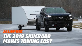 The 2019 Chevy Silverado Makes Towing A Lot Easier