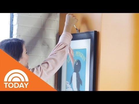 Genius Hack To Hang Wall Art | TODAY