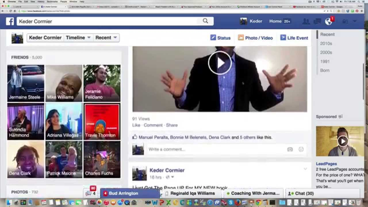 How To Change Facebook Video Thumbnail Fast | 2017 - YouTube